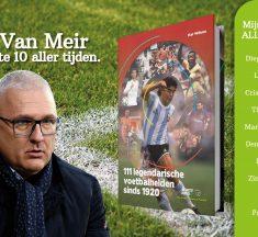 Eric Van Meir geeft zijn Eeuwige Top 10 bij het boek 111 Legendarische Voetbalhelden sinds 1920